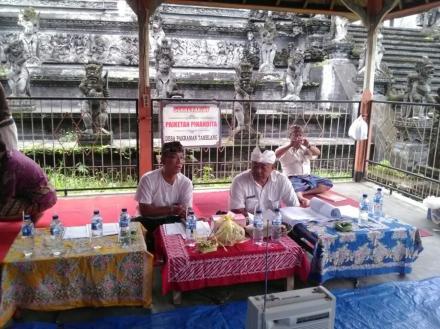 Sosialisasi PTSL Tahun 2018 Oleh Pemerintah Desa Tamblang kepada Desa Pakraman yang ada di Desa Tamb