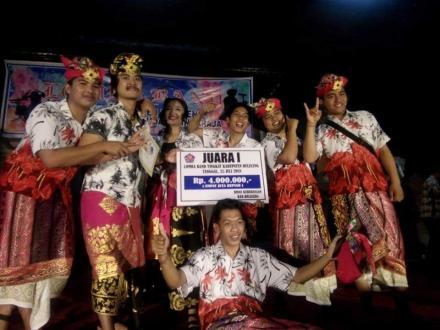 Band Tambaning Gita Tamblang Juara Lomba Band Tingkat Kabupaten Buleleng
