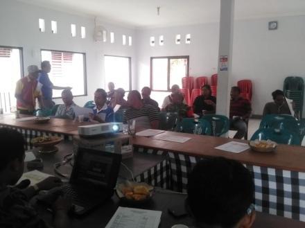 Rapat Pra Musrenbangdes Desa Tamblang