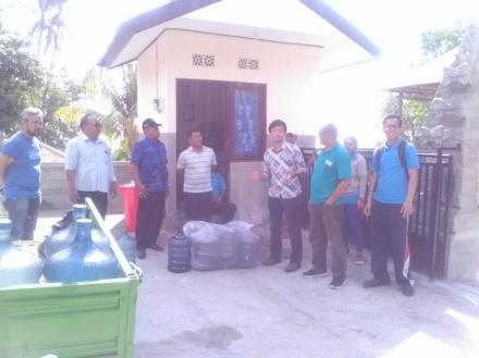 Kedubes Jepang Kunjungi Watertreatment Desa Tamblang