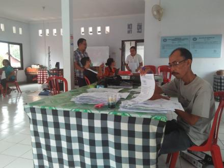 Pelatihan dan Pembinaan Arsip Oleh Dinas Arsip dan Perpustakaan Kabupaten Buleleng di Kantor Perbeke