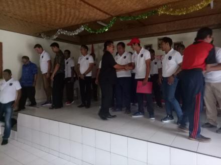 Peresmian Kampung Cricket di Desa Tamblang