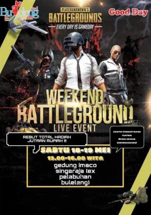 Battleground Live Event di Buleleng Expo Tahun 2019