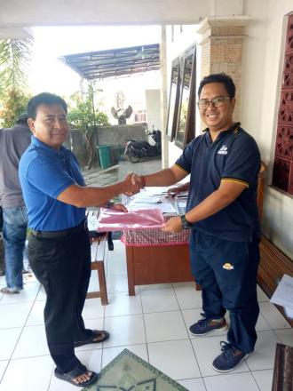 2 Bakal Calon Perbekel Mendaftarkan Diri Ke Kantor Sekretariat Panitia Pilkel Tahun 2019