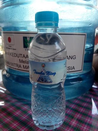 Menyambut VOLTA CUP VI Bumdes Kusuma Giri Amertha Siapkan air Mineral Botol Tambaning