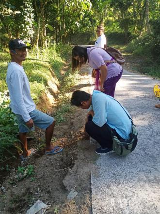 Inspektorat Kabupaten Buleleng Lakukan Sidak Ke Desa Tamblang